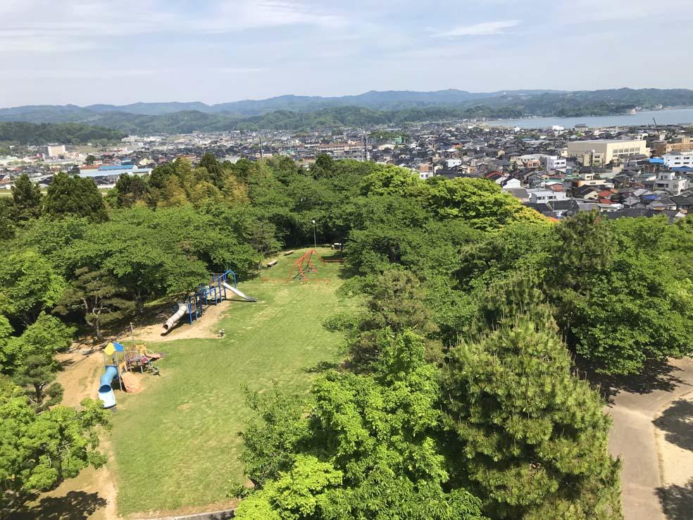 富山子供連れの遊び場【朝日山公園】朝日山の山中にある穴場的公園!