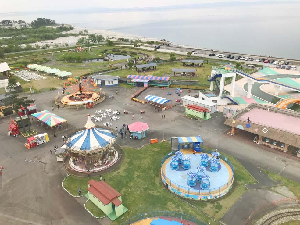富山子供連れの遊び場【ミラージュランド】魚津水族館の隣にある遊園地
