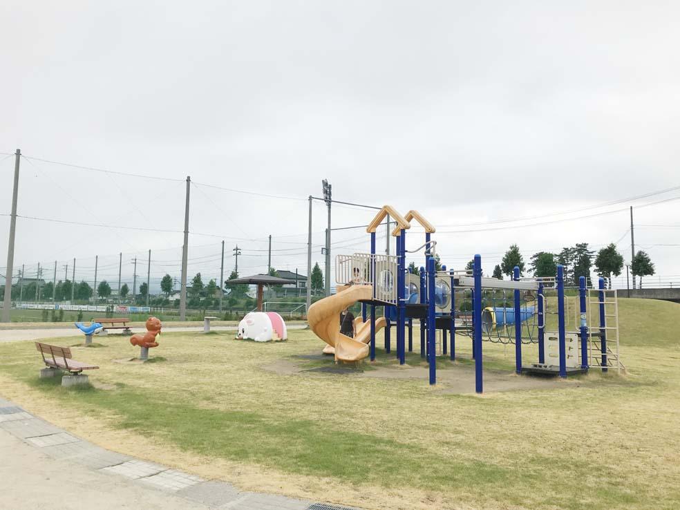 富山子供連れの遊び場【いをのみ公園】よちよちさんにオススメの小さな公園