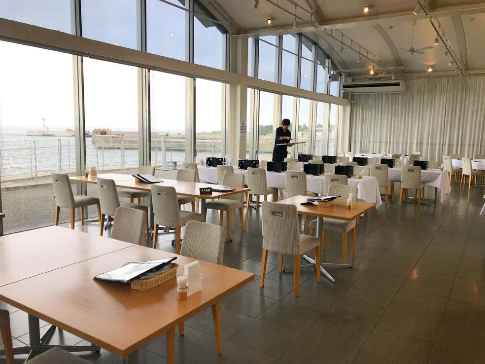 富山子供連れ歓迎のレストラン「ホタルイカミュージアム」内【光彩】でランチ!