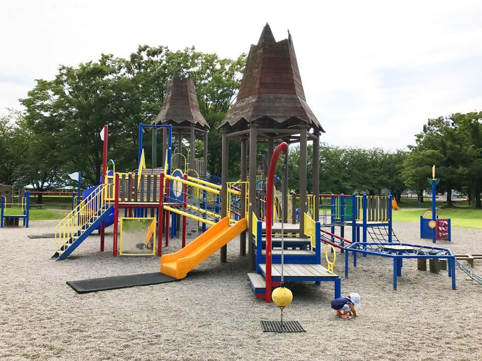 富山子供連れの遊び場【常願寺川公園】の遊具が危険て本当?実際に子供を連れて検証してきた