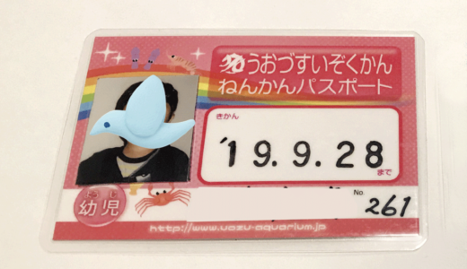 富山子供連れの遊び場【魚津水族館】私が未就園児ママに【年間パスポート】をおすすめする理由!