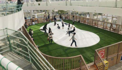 富山県高岡市2019年3月【おとぎの森公園】に新しい屋内遊び場がオープン!ふわふわドームとボールプールが完成!口コミ体験談