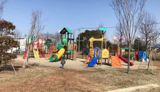 富山県上市町子供連れの遊び場【あさひの郷公園】複合アスレチックが楽しい・ちょうどいい広さの公園!口コミ体験談!
