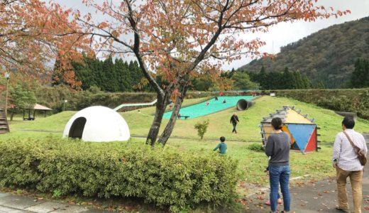 富山【道の駅細入 林林】アスレチック遊具やソリ遊びなど子供の遊び場が充実した超楽しい道の駅体験談!