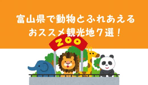 富山県で動物とのふれあいが楽しめるおススメ観光地7選!【動物園・牧場】【富山子ども連れの遊び場】