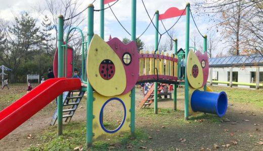 【砺波チューリップ公園】広大な敷地にはアスレチック遊具広場が2カ所!チューリップフェアじゃなくても子どもが楽しめる公園!【富山県】