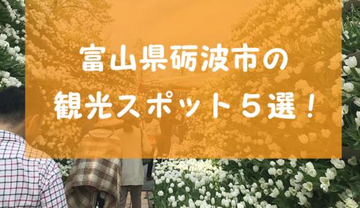 【富山県砺波市の観光スポット5選!】効率的にはしごできる施設や子連れ歓迎のオススメ飲食店を紹介!